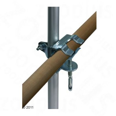 Railing Clamp & Telescoping Rod - Clamp & Telescoping Rod
