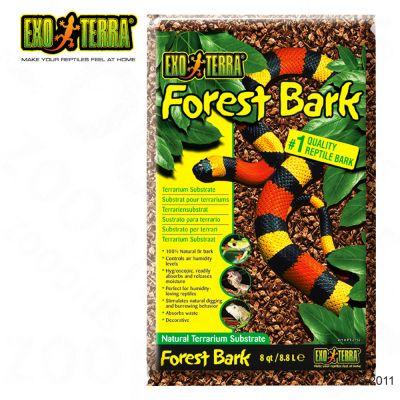 Substrat naturel pour terrarium Hagen Exo Terra Forest Bark- 8,8 l