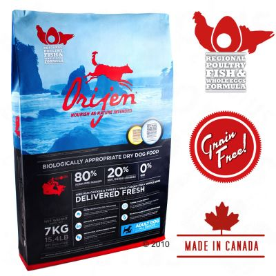 Orijen Adult Dog Food - 13.5 kg