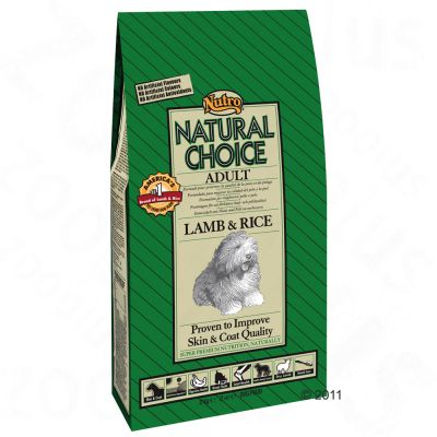 Nutro Natural Choice Adult Lamb & Rice - Economy Pack: 2 x 12kg