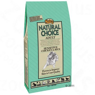 Nutro Natural Choice Adult Sensitive Chicken & Rice - Economy Pack: 2 x 12kg