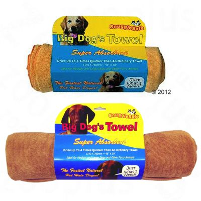 SnuggleSafe Microfiber Towel - Size: 140 x 76 cm