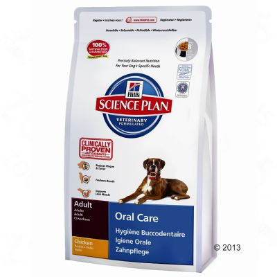 Hill's Science Plan Adult Oral Care - Chicken - Economy Pack: 3 x 2kg