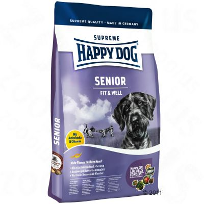 Happy Dog Supreme Fit & Well Senior - 12.5 kg