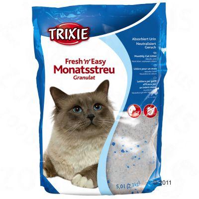 Fresh'n'Easy Cat Litter Granules from Trixie - Multipack 3 x 5 l