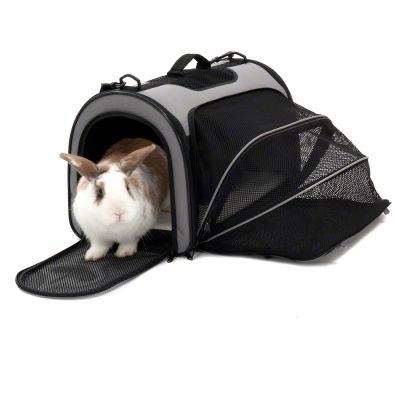 Pet Carrier Freedom with Side Extension - 50 x 29 x 32 cm (L x W x H)