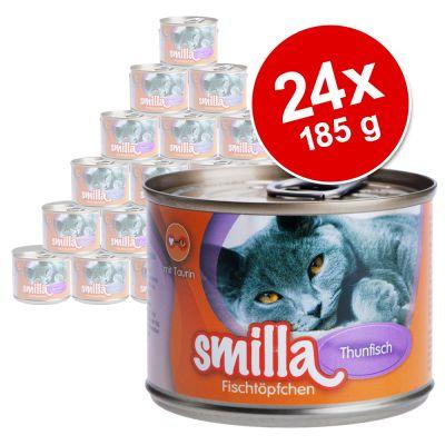 Smilla Fish Pot Saver Pack 24 x 185g - Tuna with Sardines