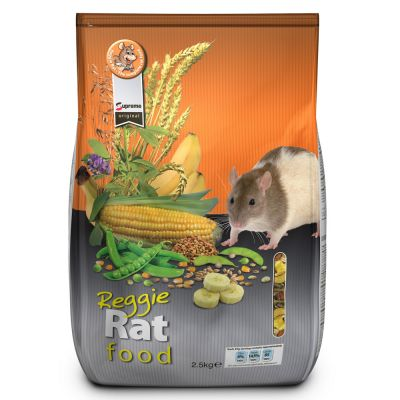 Reggie Rat Food - Economy Pack: 3 x 2.5 kg
