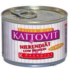 Kattovit Low Protein 175 g - Savings Pack: 24 x 175g Chicken