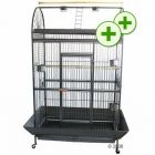 Parrot Cage Caesar - 123 x 82 x 178 cm - Bird Supplies