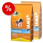 IAMS Puppy & Junior Large Breed Rich Chicken - Economy Pack: 2 x 15 kg