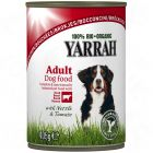 Yarrah Beef & Chicken Chunks with Tomato & Nettle - 6 x 820 g