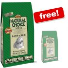 Nutro Choice Dog Food Selected 10 / 12 kg + 2 kg! - Adult Light Lamb & Rice (10 + 2kg) - Pet Supplies