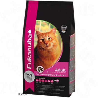 Eukanuba Adult Cat - Light for Overweight & Sterilised Cats - 400g