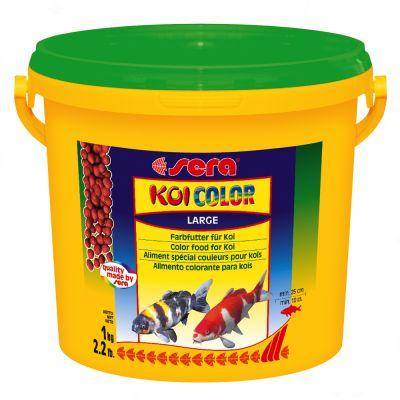Aliment en granulés maxi Sera Koi Color- 3 L