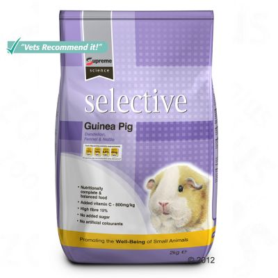 Supreme Science Selective Guinea Pig - Economy Pack: 3 x 2 kg