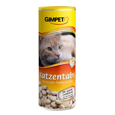Gimpet Cat Tablets Mascarpone and Biotin - 350 Tablets