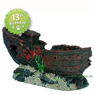 Trixie Shipwreck Aquarium Decoration - Ship