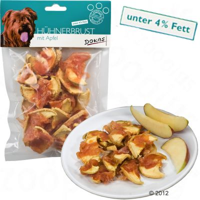 Dokas Chew Snack Chicken with Apples - Saver Pack: 3 x 70 g