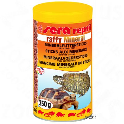 Sera Raffy Mineral Pellet Food - 250 ml