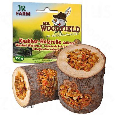Mr. Woodfield Rouleau en bois a grignoter pour rongeur - 1 friandise