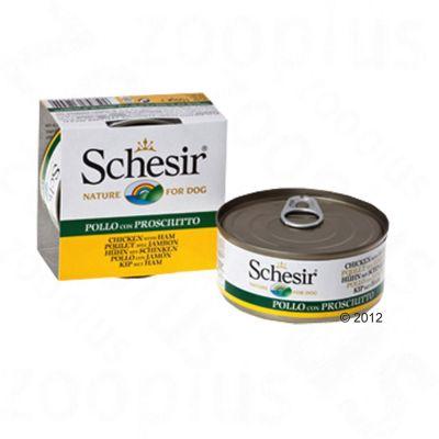 Schesir Chicken Fillet 6 x 150 g - Chicken Fillet with Ham