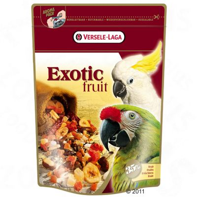 Exotic Fruit Mix for Parrots - Economy Pack: 2 x 600 g