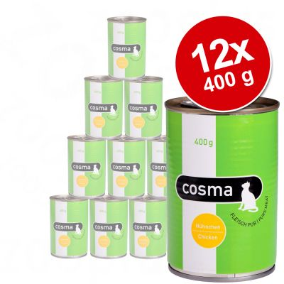 Sparpaket Cosma Original in Jelly 12 x 400g - Huehnchen