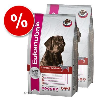 Eukanuba Breed Specific Dog Food Economy Packs - Labrador Retriever Adult: 2 x 12kg