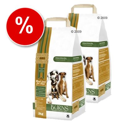 Burns Chicken & Brown Rice Adult - Economy Pack: 2 x 15 kg