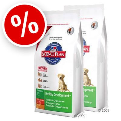Hill's Puppy Healthy Development Large Breed with Chicken - Economy Pack: 2 x 18 kg