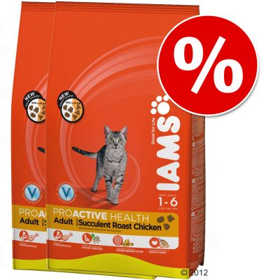 Iams Dry Cat Food Economy Packs - Kitten & Junior 2 x 10kg