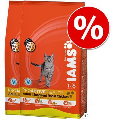 Iams Dry Cat Food Economy Packs - Multi-Cat 2 x 15kg