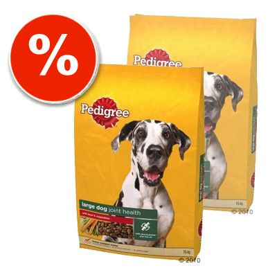 Pedigree Economy Packs: Adult Flavours - 2 x 15 kg Pedigree Adult Poultry