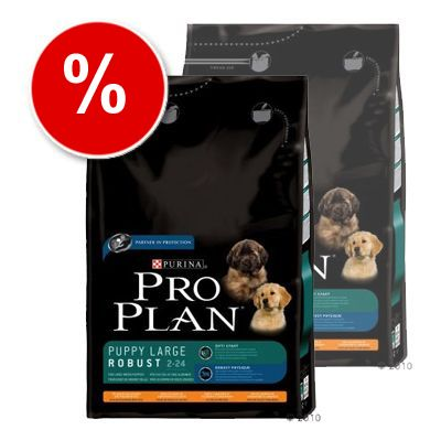Pro Plan Puppy Large Breed Robust Chicken & Rice - Economy Pack: 2 x 14 kg