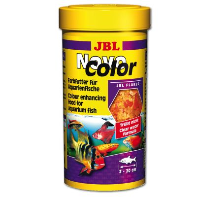 JBL NovoColor Flakes - Tropical Fish - 250 ml