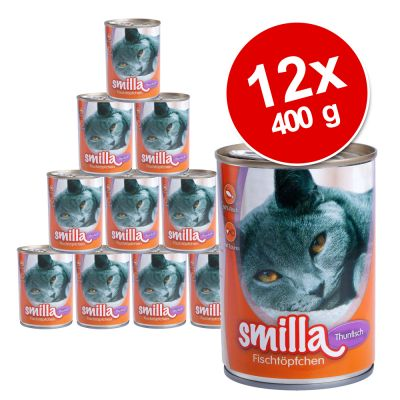 Smilla Fish Pot Saver Pack 12 x 400g - Tuna with Sardines
