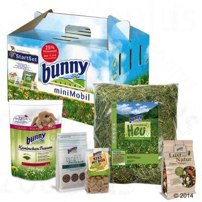 Assortiment de nourriture Bunny miniMobil pour lapin - 1 coffret Minimobil pour lapin