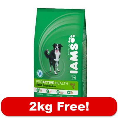 10kg Iams Proactive Health + 2kg Free!* - Adult Dog Light in Fat Chicken