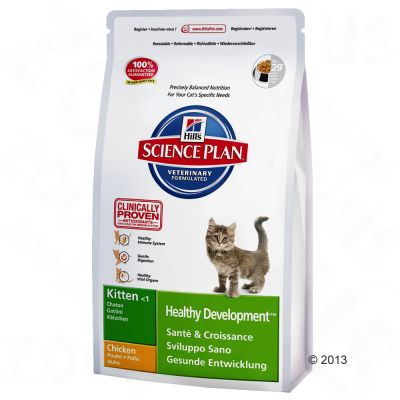 Hill's Science Plan Kitten Healthy Development - Chicken - Economy Pack: 2 x 10kg