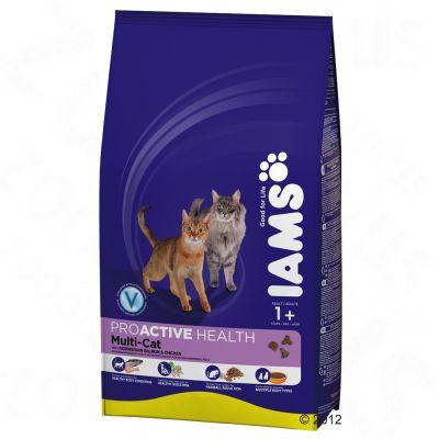 Iams Proactive Health Adult Multi-Cat - Salmon & Chicken - 15kg
