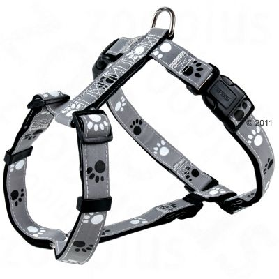 Trixie Dog Harness with Reflective Paws - Chest circumference 50-75 cm, 25 mm (M-L)