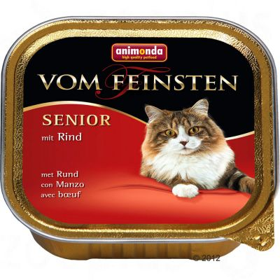 Animonda vom Feinsten Senior 6 x 100 g - Lamb