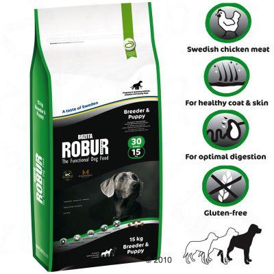 Bozita Robur Breeder & Puppy 30/15 - 15 kg