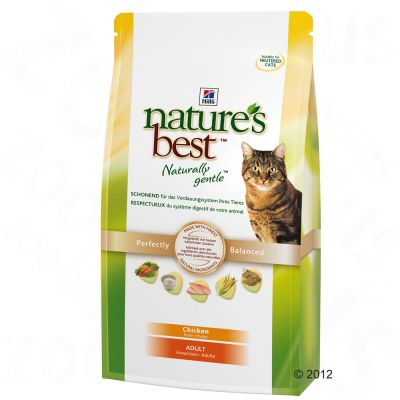 Hill's Nature's Best Feline Adult Cat - Chicken - 4kg