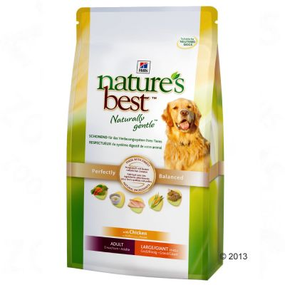 Hill's Nature's Best Adult Large/Giant - Chicken - Economy Pack: 2 x 12kg