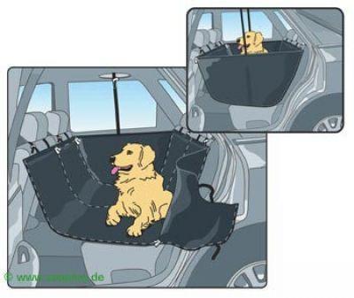 Allside Dog Car Seat Cover - Dimensions: 145 x 140 cm