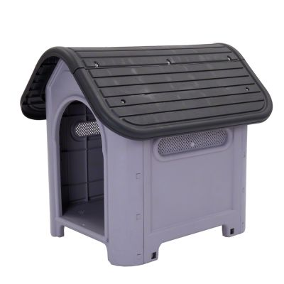 Plastic Dog Kennel Polly - 87 x 72 x 75 cm (L x W x H)