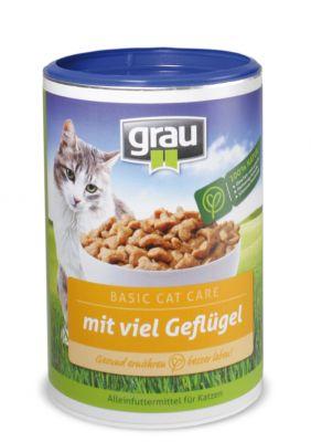Croquettes pour chat Grau Basic Cat Care, volaille- 400 g
