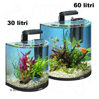 Set Acquario Tetra AquaArt Explorer Line Halfmoon - - 60 L
